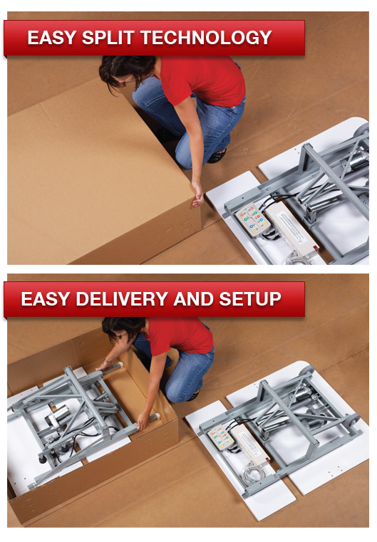 Easy Split Technology | Easy Delivery and Setup