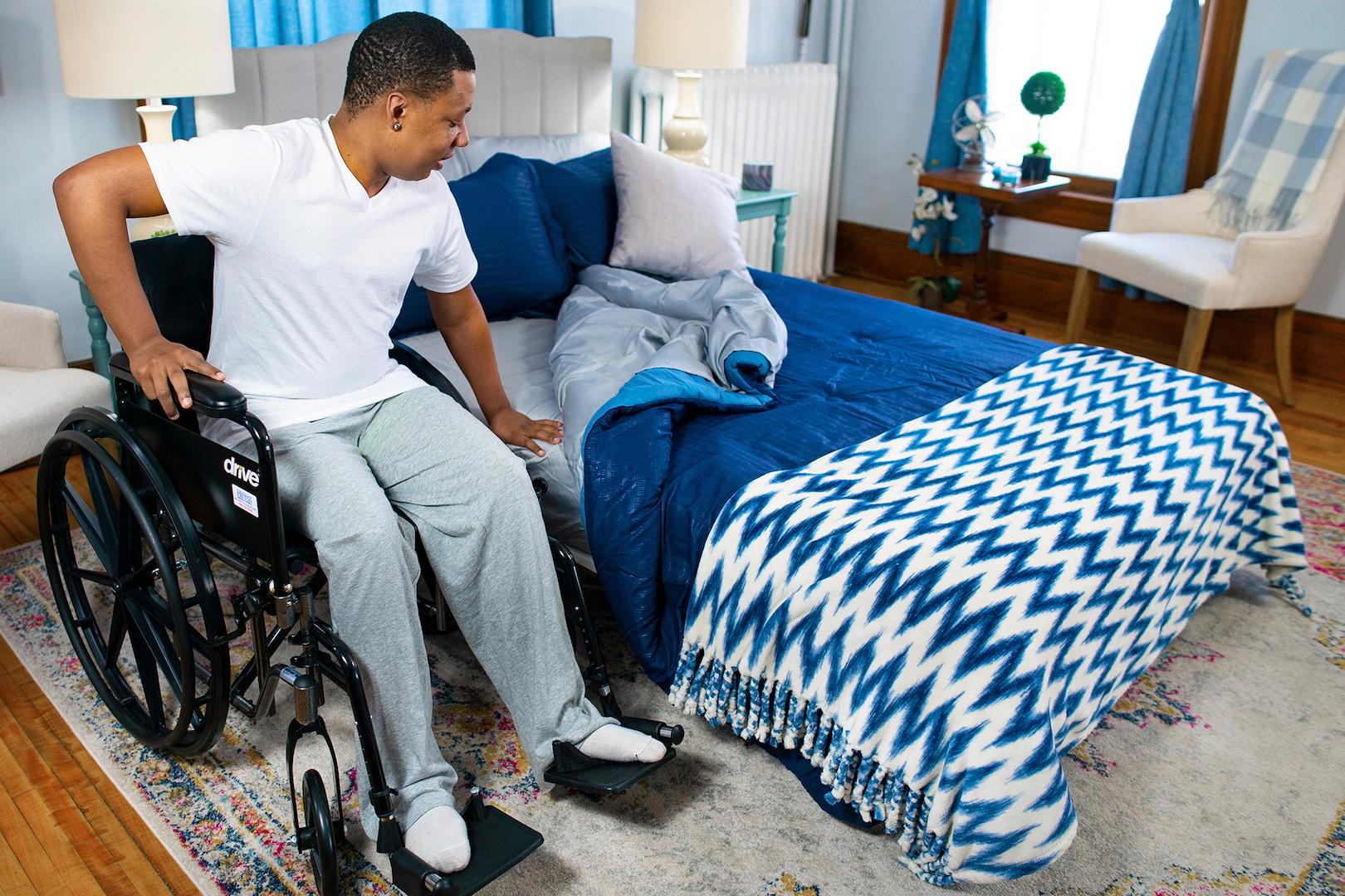 Night Rider home hospital bed