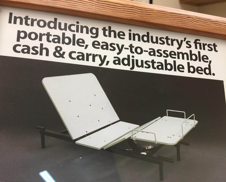 Portable, adjustable bed