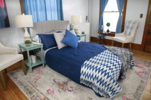 Floor Hugger bedroom decor
