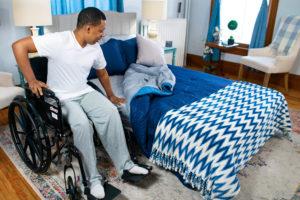 Night Rider wheelchair transfer
