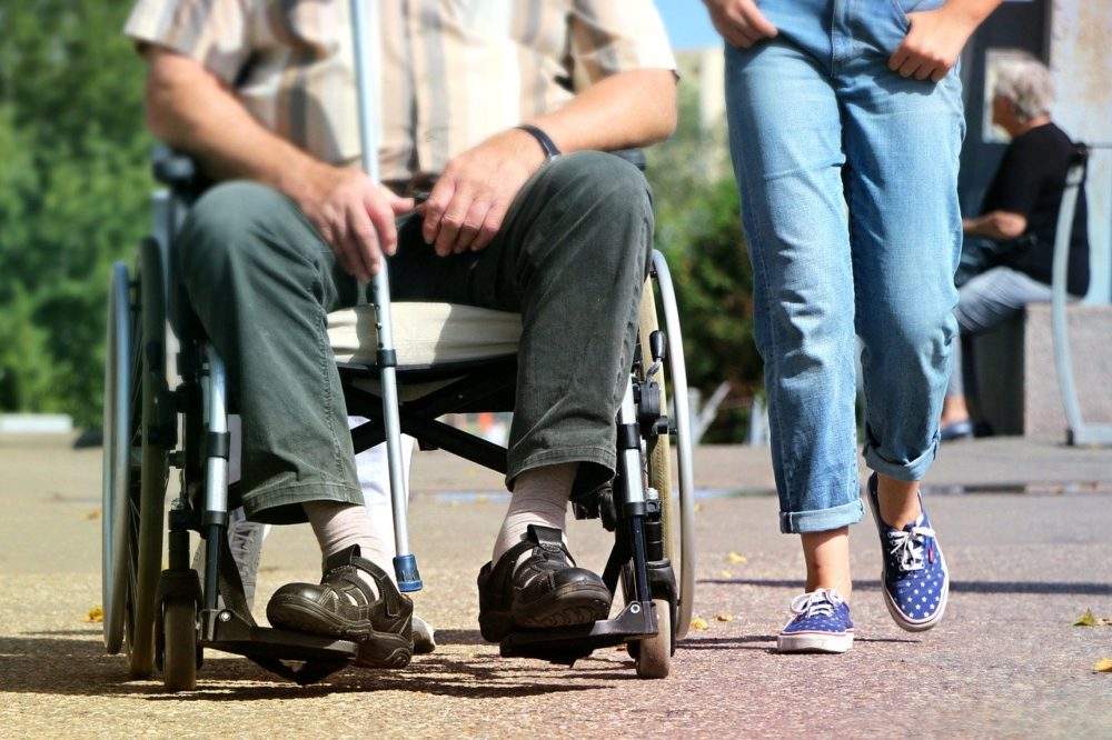 How to Transfer a Patient From a Wheelchair to a Home Hospital Bed and Back Again